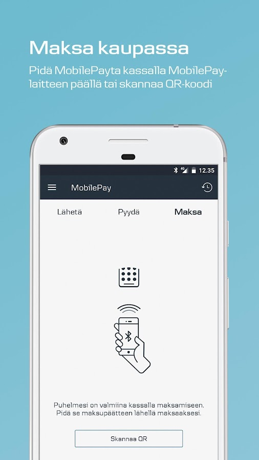 MobilePay FI- screenshot