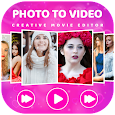 Photo Video Maker With Music-Image to video