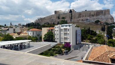 Photo: New Acropolis Museum - The restaurant's balcony