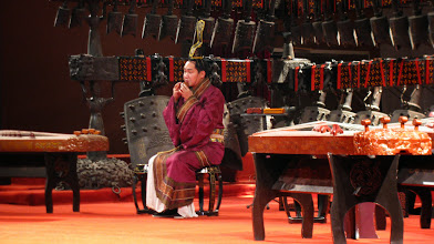 Photo: music performance at Hubei Province Museum