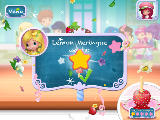Strawberry Shortcake Sweet Shop - screenshot
