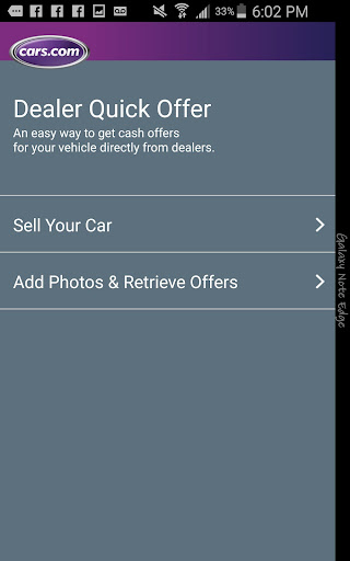 Cars.com Quick Offer