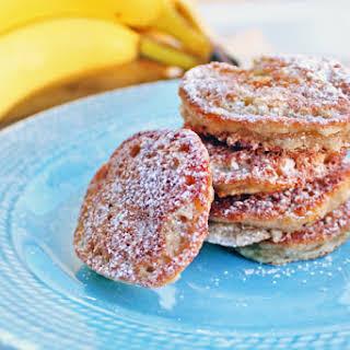 Caramelized Banana Fritters.