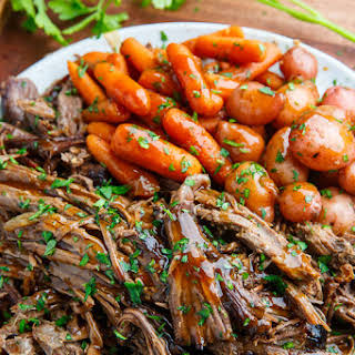 Roast Beef With Potatoes And Carrots Slow Cooker Recipes.