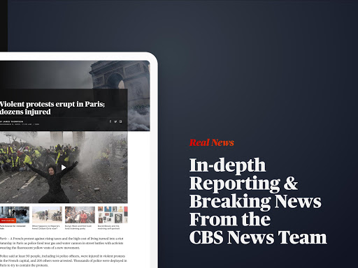 CBS News screenshot 8