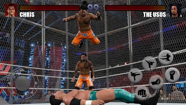 Cage Wrestling Revolution Royale Championship 2018 apk screenshot