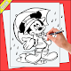 Belajar Menggambar Karakter Mickey Mouse (app)