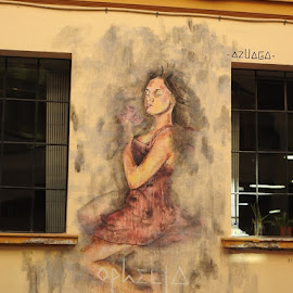 street art in spain by Betty Taylor - Digital Art Places ( street art, artistic, street photography,  )