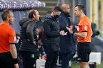 """Vanderhaeghe boos om eerste helft: """"Dat verwijt ik de spelers toch, het verschil met de tweede helft kon niet groter zijn"""""""