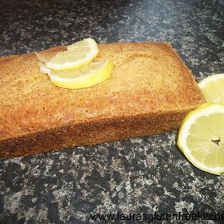 Gluten Free Lemon Madeira Cake.