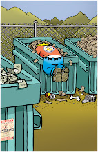"Photo: ""Dumpster Diver"" 2013 Anchorage Press cover"