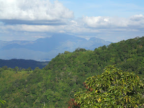 Photo: Looking Phu Soi Dao mountain on Thai-Laos border in the north-east