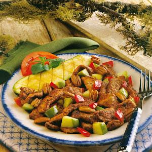 Stir-Fried Cajun Pork