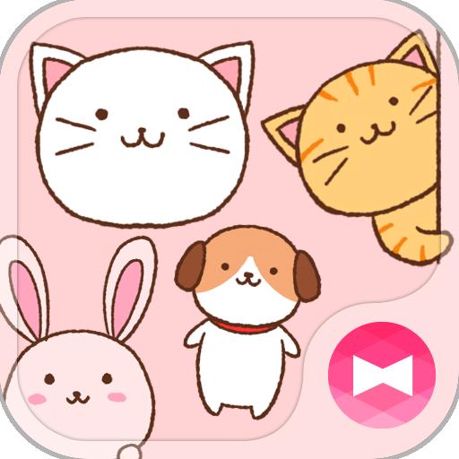+HOME圖章套組 可愛動物 個人化 App LOGO-APP試玩