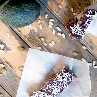 Double Chocolate Raw Protein Bars (Vegan, Nut-free, Sugar-free)