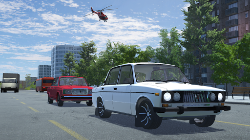Russian Car Lada 3D 1.5 screenshots 10