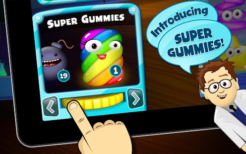 Gummy Lab - Match 3- screenshot thumbnail