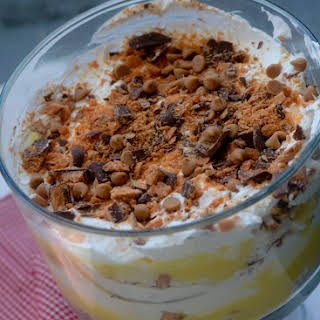 Weight Watcher's Butterfinger Dessert.