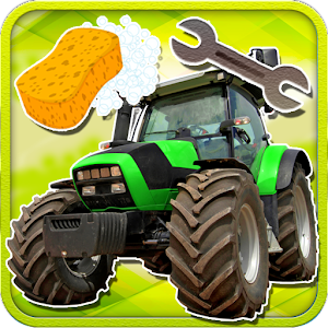 Farm Tractors Wash And Repair for PC and MAC