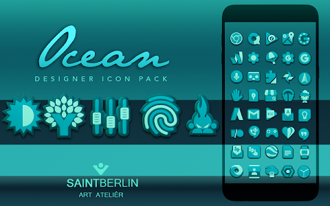 Ocean HD Icon Pack v1.6