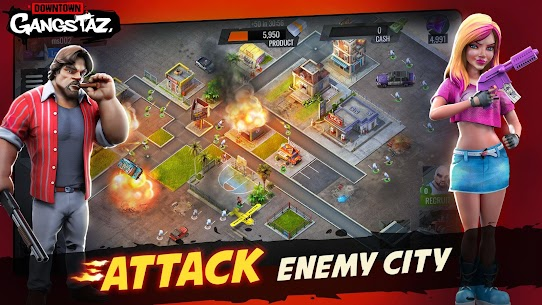 Downtown Gangstaz – Hood Wars Apk Download For Android 1