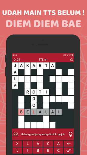TTS Pintar 2019 - Teka Teki Silang Offline  captures d'écran 2