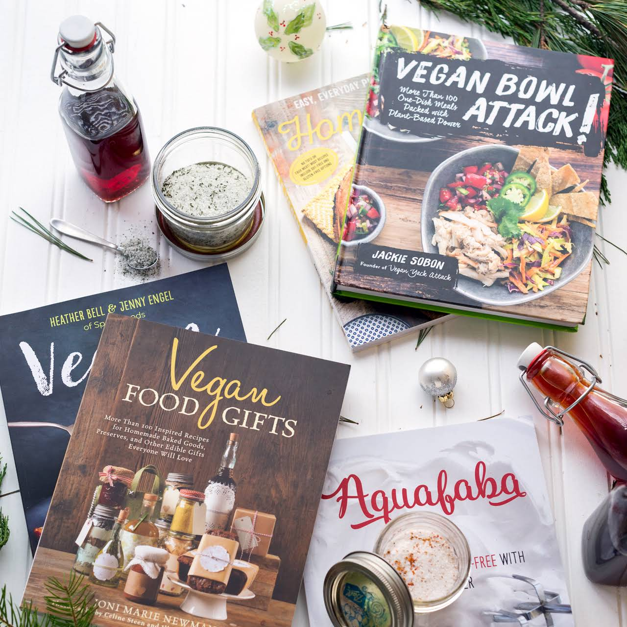 Homemade Herbed Sea Salt - Vegan Gift Guide