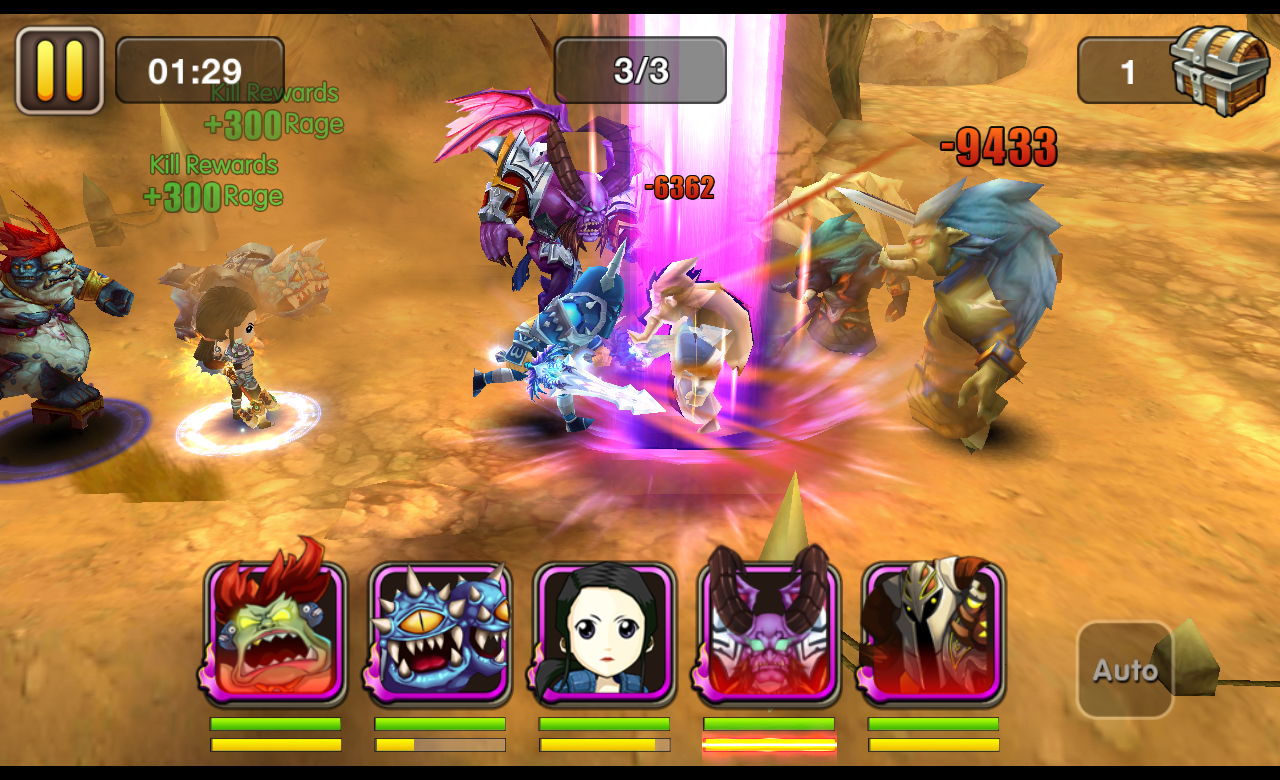 Rush of Heroes screenshot #8