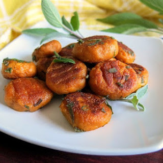 Pan-Fried Pumpkin Gnocchi with Sage