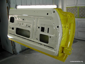Photo: all painted 70 charger door
