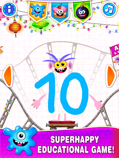 Learning numbers for kids! Writing Counting Games! 1.0.2.9 screenshots 8