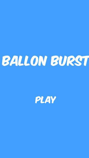 Ballon burst