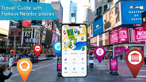 Voice GPS Navigation 2020 - Live Earth Map Parking 1.1.2 5