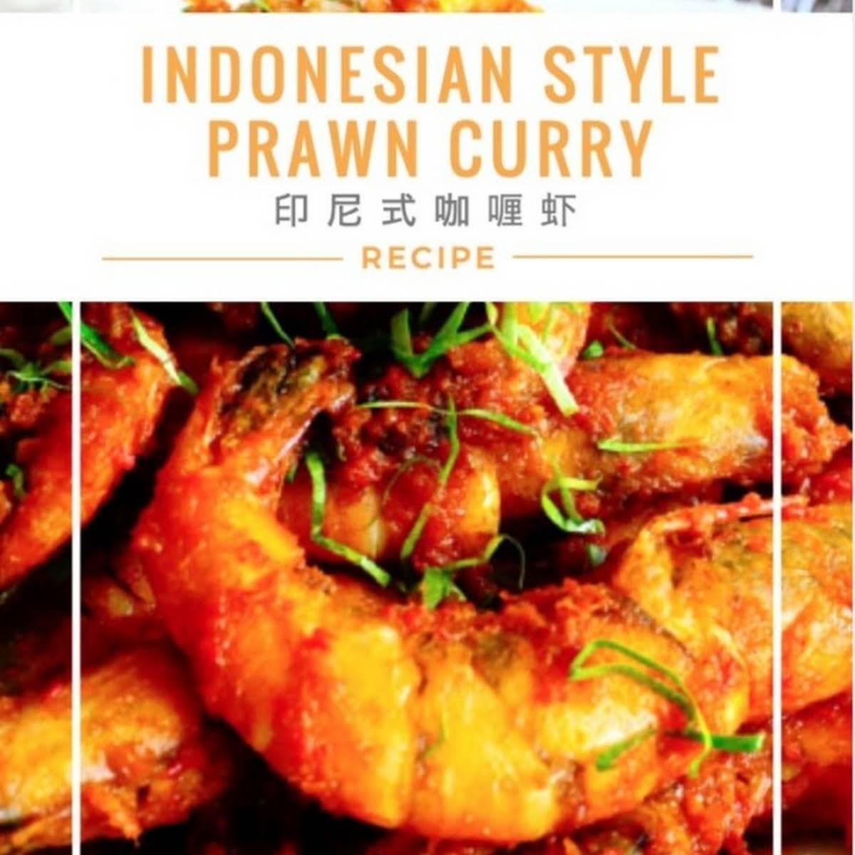 Indonesian Prawn Curry 印尼咖喱虾