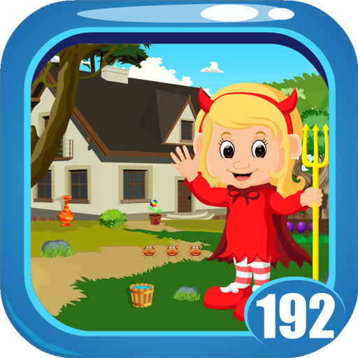 Cute Devil Baby Rescue Game Kavi - 192