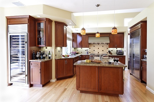 Photo: Gayler Construction - Kitchen & Family Room Remodel