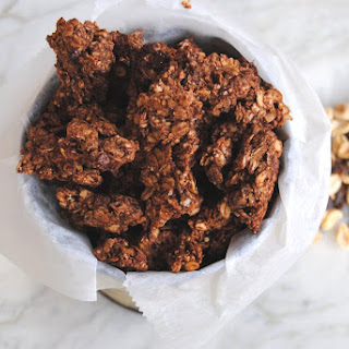Banana Peanut Butter Chocolate Chunk Granola Recipe
