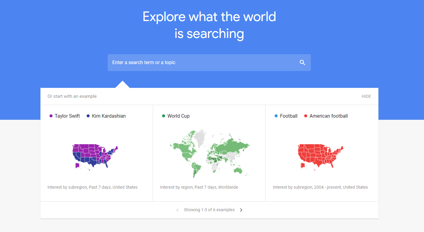 Advanced Google Trends Research