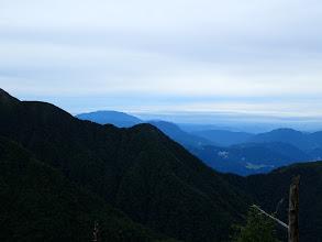 左奥に恵那山、その右に南木曽岳
