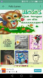 Frases Feliz Dia de la Semana - náhled