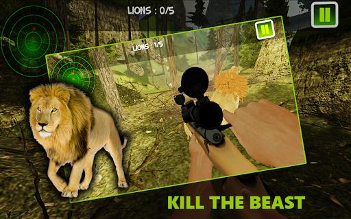 ライオン狩猟シーズン3D