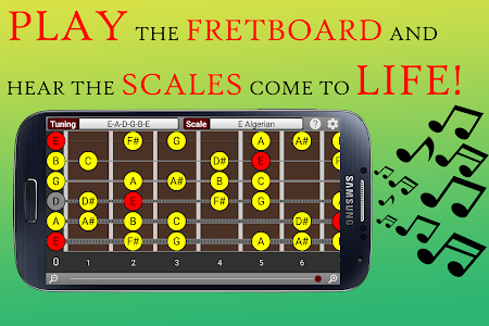 Visual Guitar Scales screenshot 0