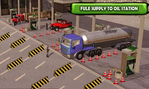 New City Offroad Oil Tanker Cargo Game - náhled