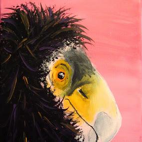 California Condor by Anita Elder - Painting All Painting ( painting, acrylic, california condor, bird, condor )
