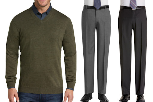 Up to 85% Off Men's Wearhouse Clearance Styles   Dress Shirts, Pants, & More from $4.99 Shipped
