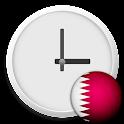 Qatar Clock & RSS Widget icon