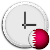 Qatar Clock & RSS Widget
