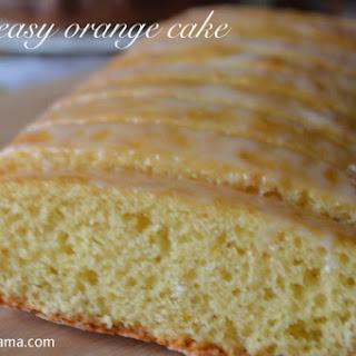 Very Easy And Tasty Orange Cake.