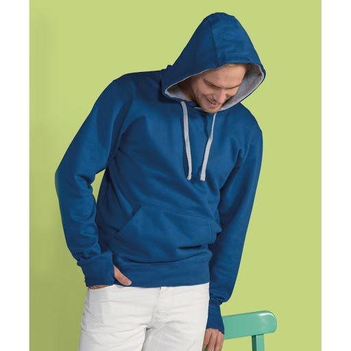 Custom Printed Contrast Varsity Hoodies (Mens)