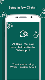 Download Whats – Bubble Chat App For Android 4